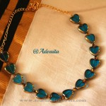 Imitation Fancy Heart Necklace