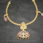 Gold Antique Ruby Attigai