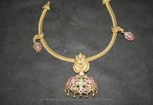 Gold Antique Ruby Attigai