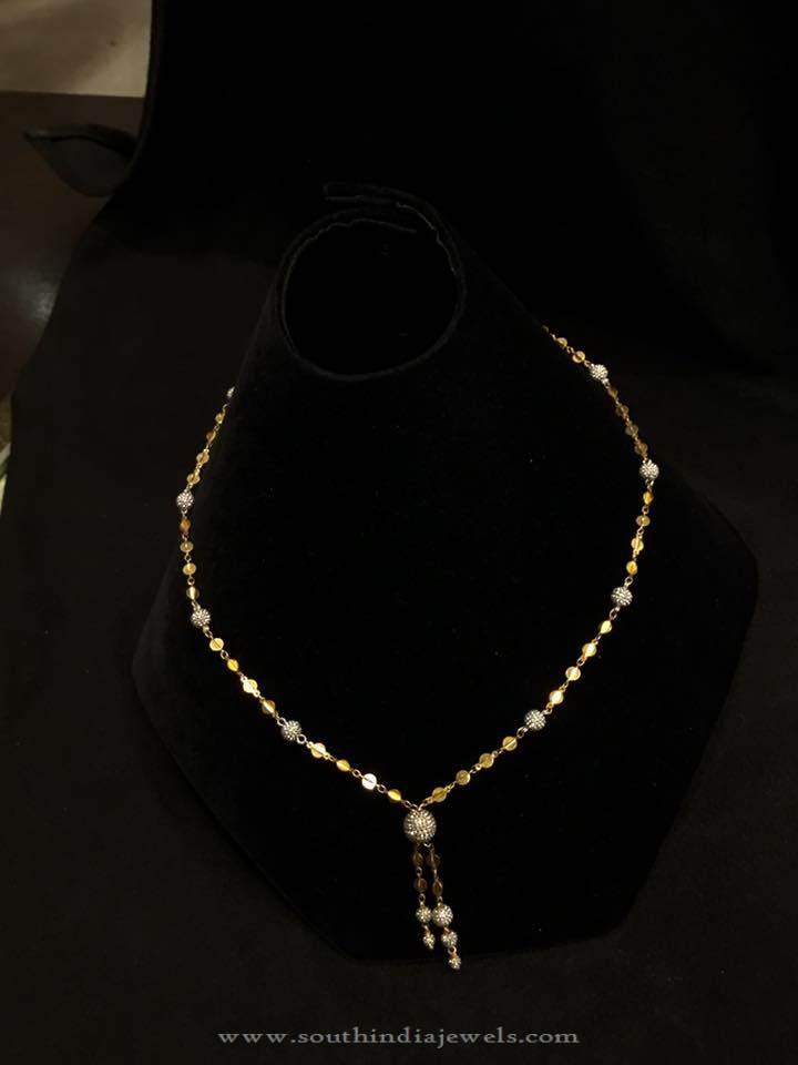 22K Gold Baby Neckalce Design from PSJ
