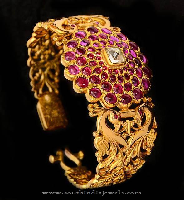 75 Grams Gold Kada Bangle