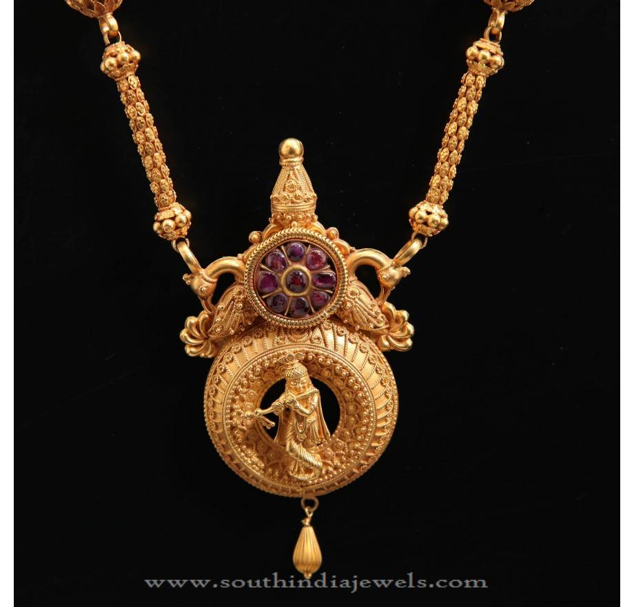 22Kt Temple Jewellery Desings