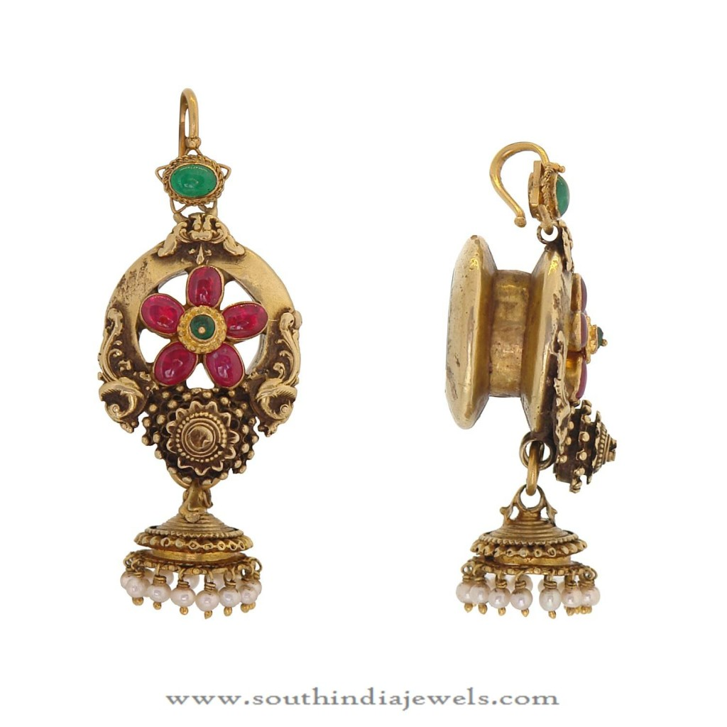 Beautiful Gold Jhumka Design From Prince Jewellery