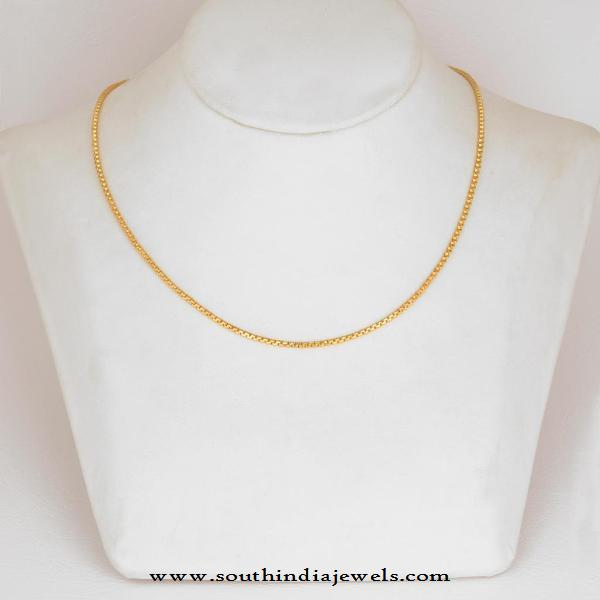 Daily Wear Gold Chain from WHPS