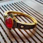 Designer Ruby Kada Bangle From Aatman Jewellers