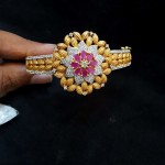 Floral Bracelet Design From Subham Pearls and Jewellery