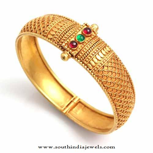 Gold Bangle Designs From WHPS