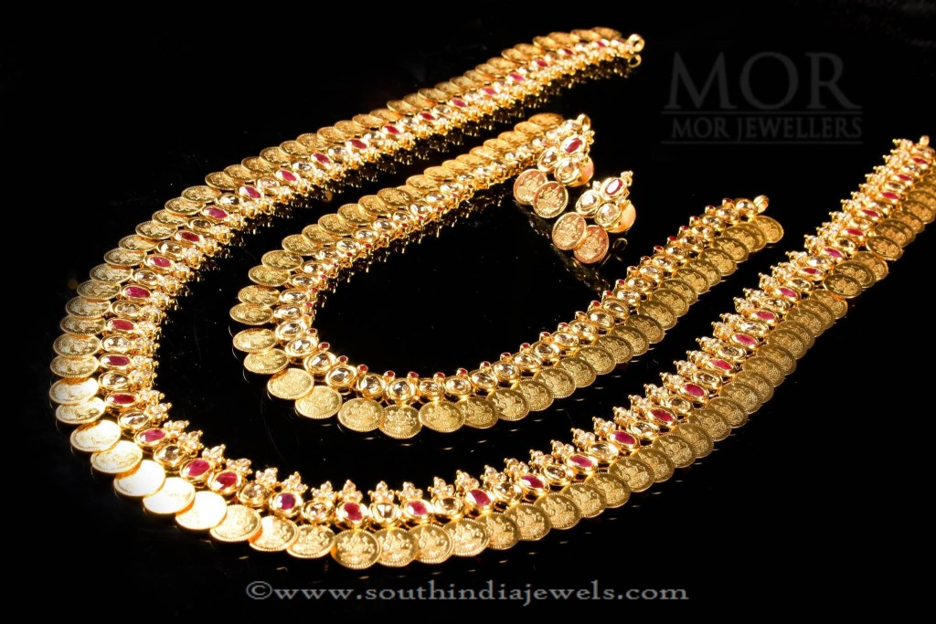 Kerala Style Gold Bridal Necklace Set
