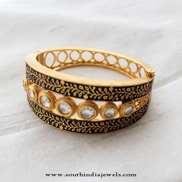 Kundan Kada Bangle From Aatman