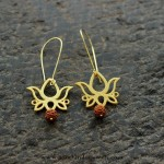 Imitation Fancy Lotus Earrings