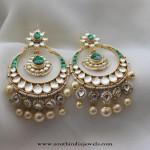 Imitation Chandbali Earrings from Aatman