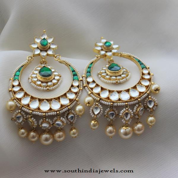 Imitation Chandbali Earrings from Aatman
