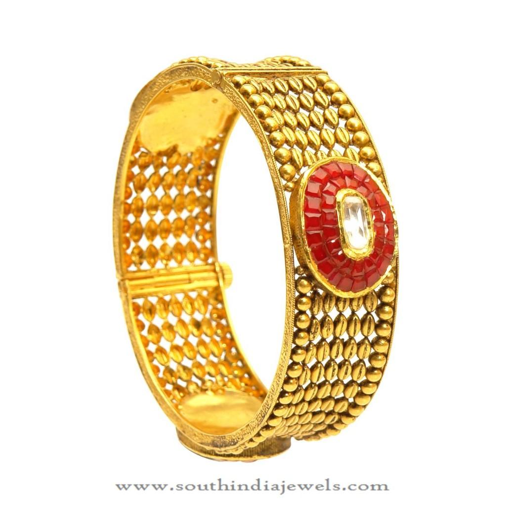 Gold Designer Kangan