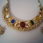 Indian Kundan Choker with Pearls