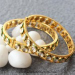 Indian Kundan Bangles from Aatman