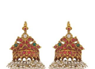 Latest Antique Jhumka from Prince Jewellery