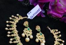 Latest Model Emerald Necklace