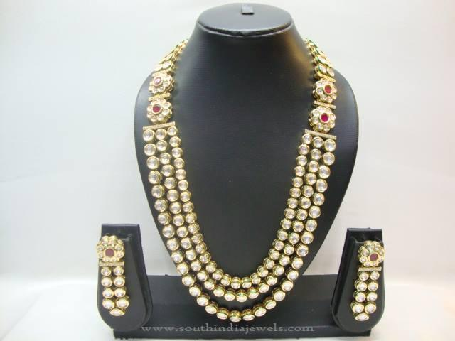 North Indian Kundan Jewellery Set