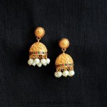 Imitation Antique  Jhumka from Aatman
