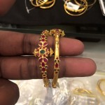 18 Grams Gold Bangle Pair from PSJ