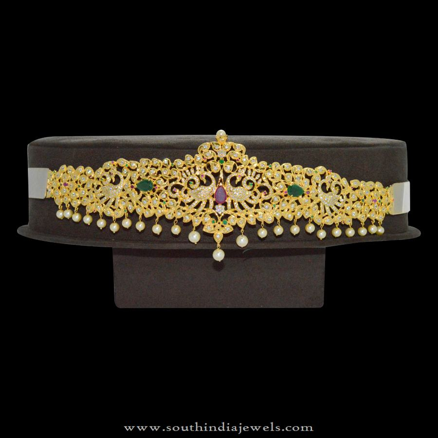 1 gm gold Ottiyanam Design with Cost Rs6900