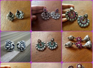 Antique Silver Earrings Collections