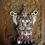 Antique Lakshmi Silver Pendant from Arnav