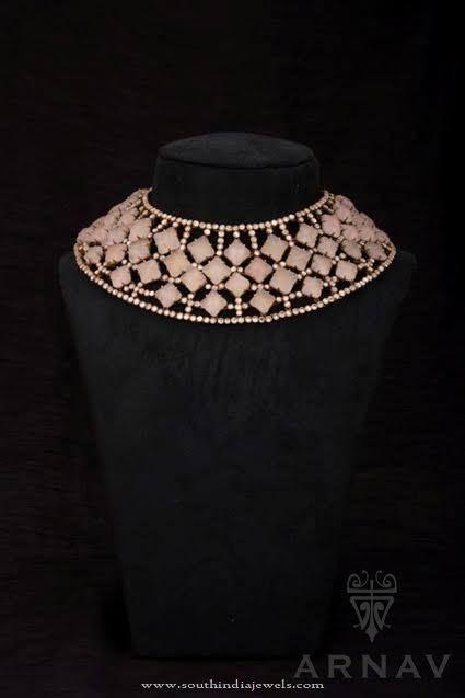 Designer Gold Choker from Arnav