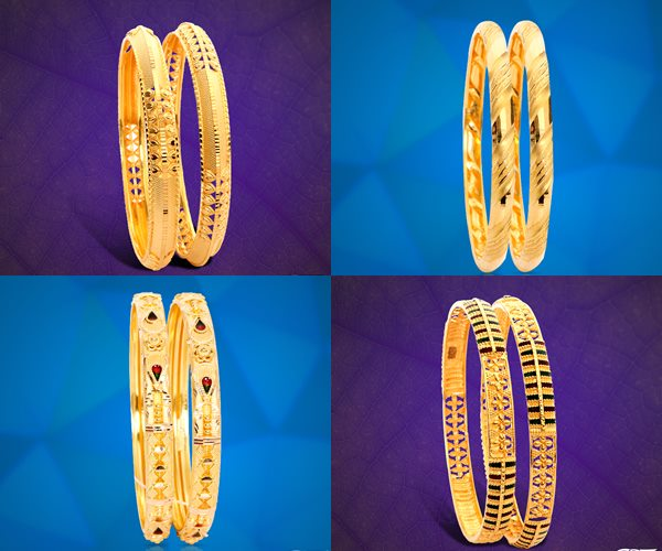 GRT Jewellers Gold Bangles Designs
