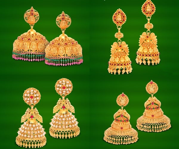 GRT Jewellers Earrings Collection