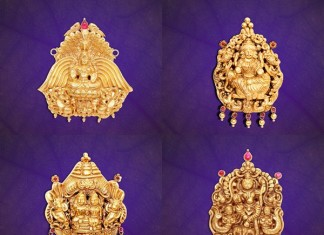 GRT Jewels gold Pendant Designs
