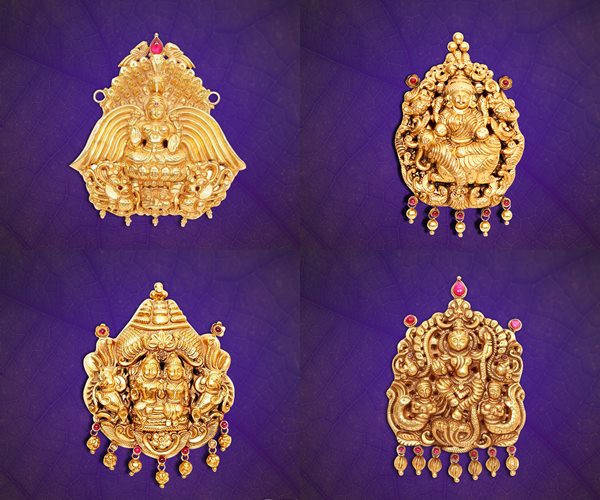 GRT Jewels gold Pendant Designs