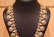 Gold Antique Nakshi Haram from NAJ Jewellery