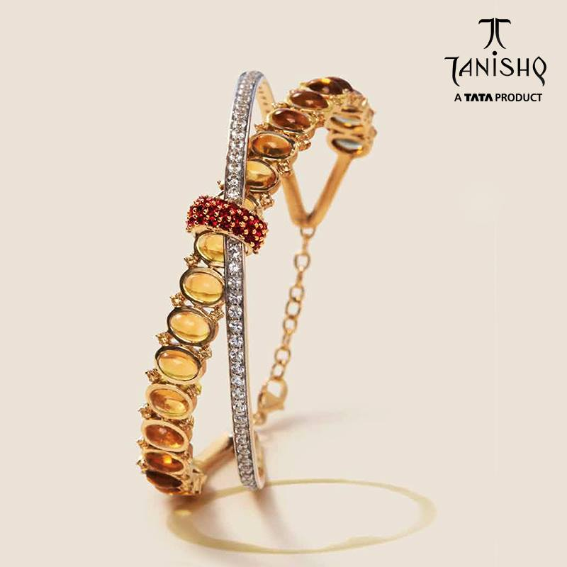 Gold Designer Bracelet from Tanishq
