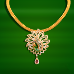 20 Grams Gold Necklace Designs in GRT Jewellers