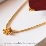 Gold Thali Kodi (Mangalsutra) Design