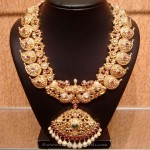 Grand Gold Bridal Antique Mango Mala