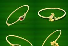 Gold Light Weight Bracelet Designs from GRT
