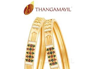 22 Carat Indian Gold Bangle Design