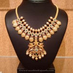 Light Weight Gold Coin Necklace From NAJ