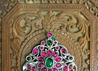 Silver Ruby Pendants from Arnav