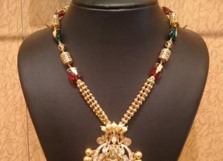 Simple Gold Necklace Design