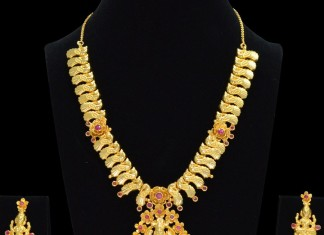 Temple Lakshmi Necklace from Sri Fine Jewellery