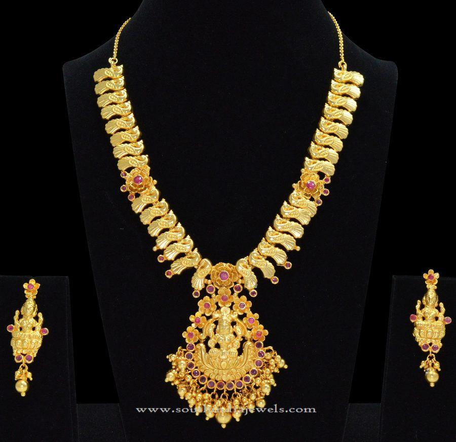 Temple Lakshmi Necklace from Sri Fine Jewellery