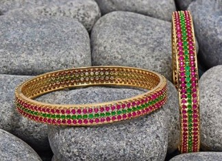 Beautiful Stone Bangle Design