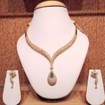Stylish Gold Necklace from NAJ