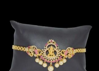 One Gram Gold Lakshmi Bajubandh