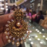 30 Grams Gold Chandbali Earrings