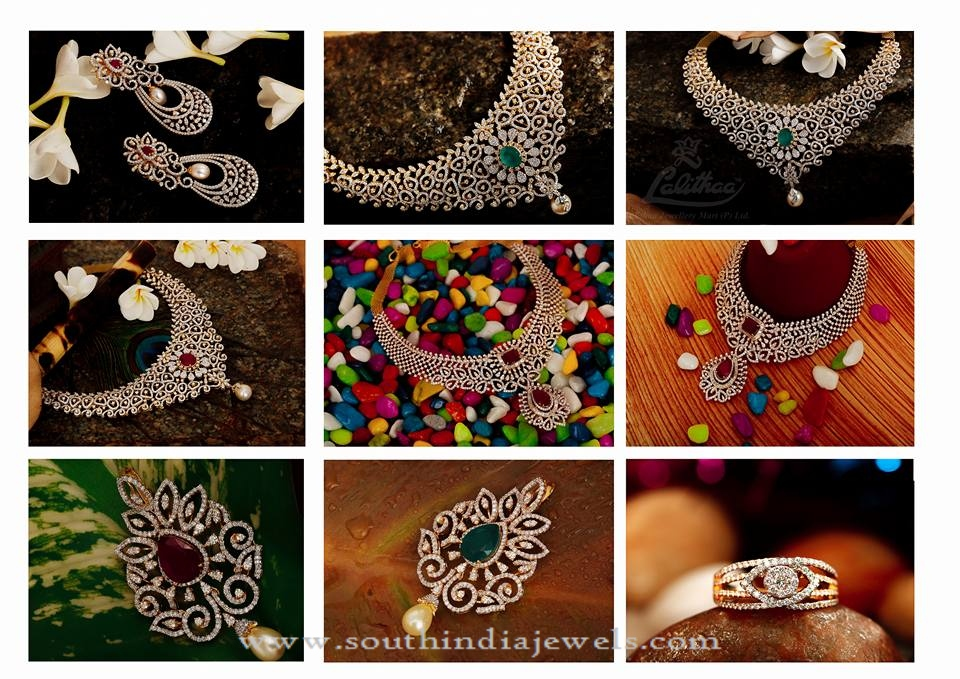 Diamond Jewellery Collections from Lalitha Jewellery