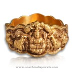 Gold Antique Nakshi Kada Model